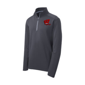 Men's Textured 14 Zip Pullover